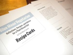 blog recipe cards