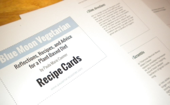 blog recipe cards