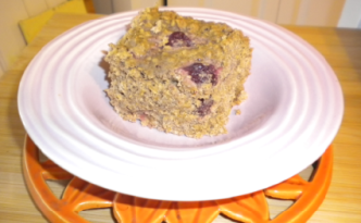 blog cherry oat sunday cake