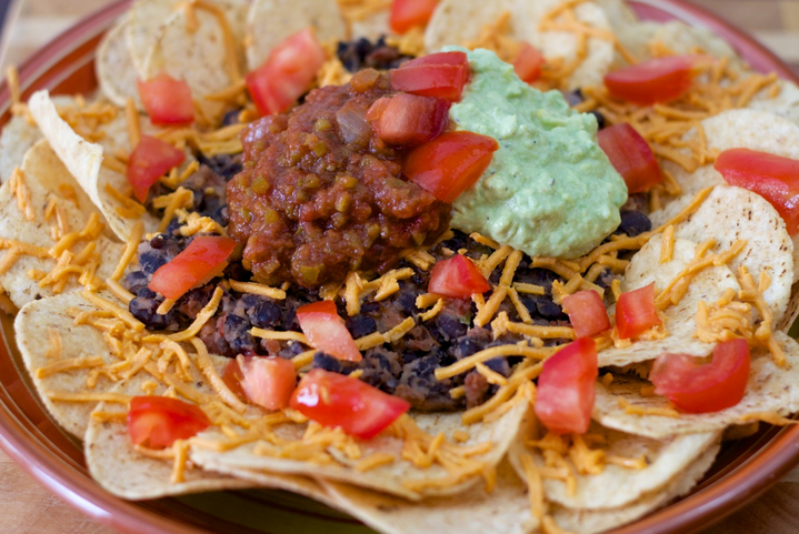 photoshoot 3-bean nachos